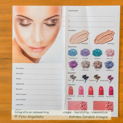 Make-up advies zomertype, make-up kaart, gedempte kleuren, workshops visagie en ...