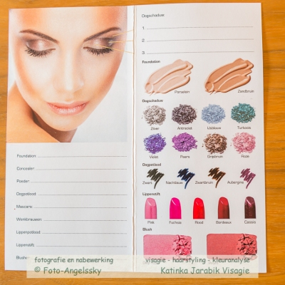 Make-up advies wintertype, Visagiste en Styliste Limburg Katinka Jarabik Visagie